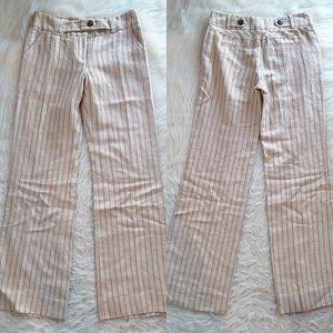 Anthropologie Elevenses linen trouser pants 4
